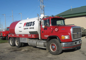 Fred's Septic Service